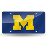 Wolverines NCAA Mirror License Plates - Fan Shop TODAY