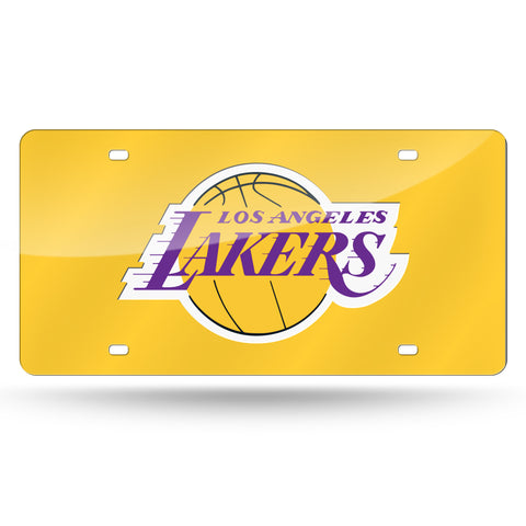 Lakers NBA Mirror License Plates - Fan Shop TODAY