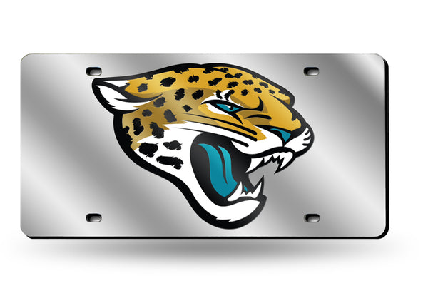 Jacksonville Jaguars Laser Tag License Plate - Fan Shop TODAY