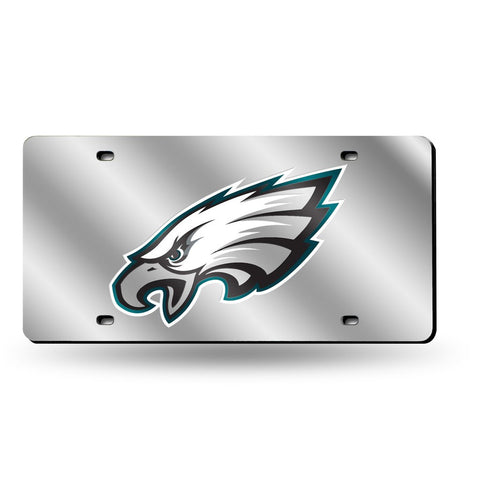 Eagles NFL Mirror License Plate (Silver) - Fan Shop TODAY