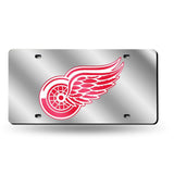 Detroit Red Wings NHL Mirror Laser Tag License Plates - Fan Shop TODAY