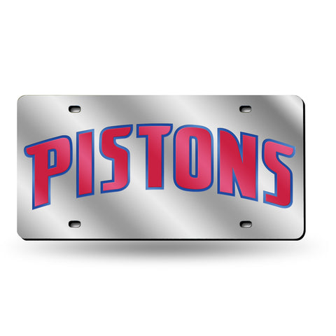 Pistons NBA Mirror License Plate - Fan Shop TODAY