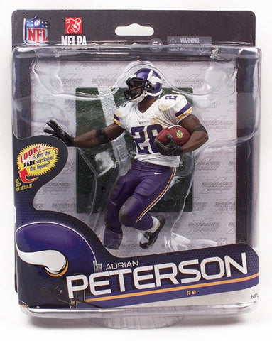 Vikings NFL Adrian Peterson Series 34 Action Figure - Fan Shop TODAY