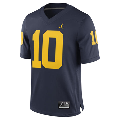 Michigan Wolverines Tom Brady Alumni Football Jersey Brand Jordan - Fan Shop TODAY
