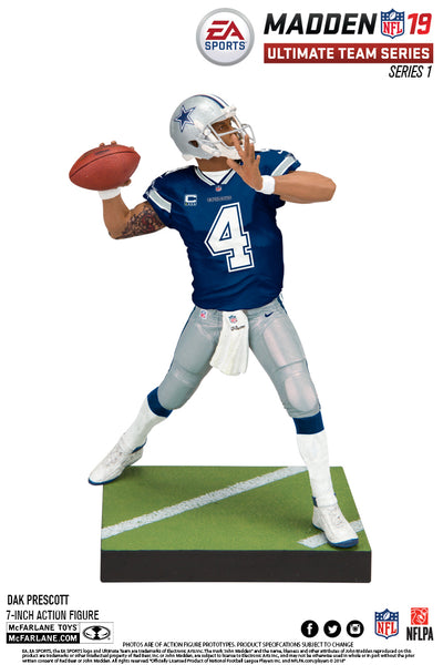 Dallas Cowboys Dak Prescott EA Sports Madden 19 Ultimate Team Series 1 - Fan Shop TODAY