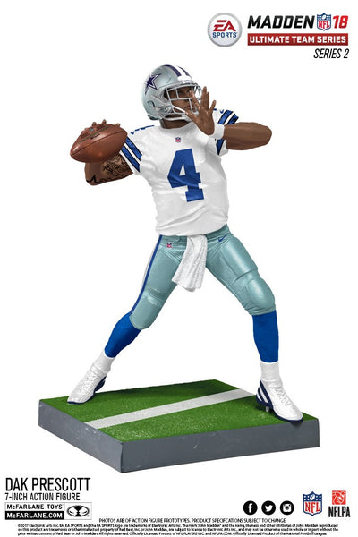 Dallas Cowboys Dak Prescott EA Sports Madden 18 Ultimate Team Series 2 - Fan Shop TODAY