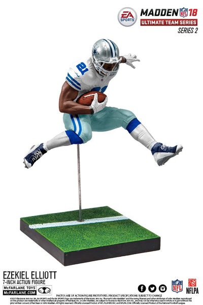 Dallas Cowboys Ezekiel Elliott EA Sports Madden 18 Ultimate Team Series 2 - Fan Shop TODAY