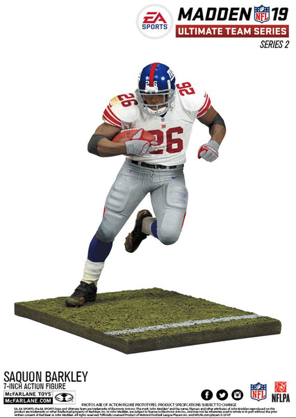 New York Giants Saquon Barkley EA Sports Madden 19 Ultimate Team Series 2 - Fan Shop TODAY
