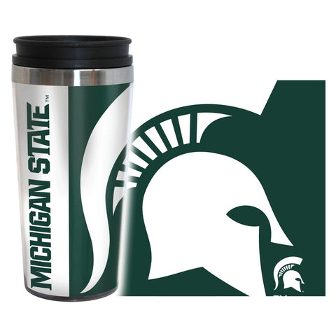 Spartans NCAA 16 oz. Hype Travel Tumbler - Fan Shop TODAY