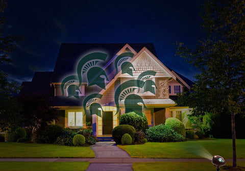 Michigan State Spartans NCAA Team Pride Laser Light - Fan Shop TODAY