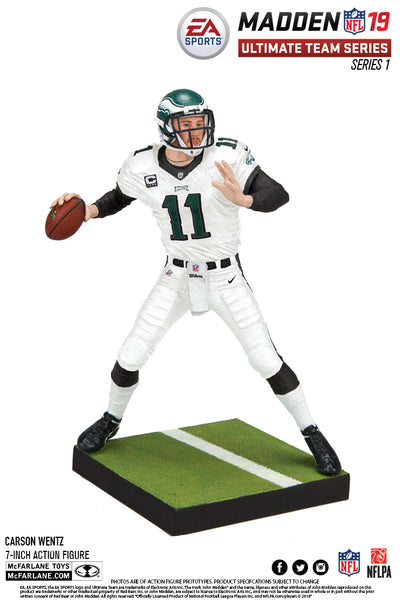 Philadelphia Eagles Carson Wentz EA Sports Madden 19 Ultimate Team Series 1 - Fan Shop TODAY