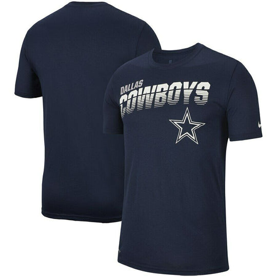 Dallas Cowboys Nike Sideline Line of Scrimmage T-Shirt - Fan Shop TODAY