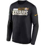 Pittsburgh Steelers Nike Sideline Line of Scrimmage Long Sleeve T-Shirt - Fan Shop TODAY