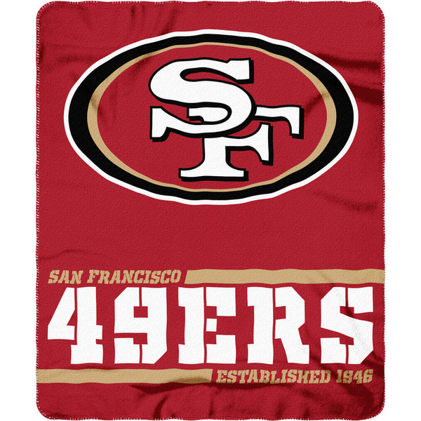 "NFL Split Wide Fleece Throw Blankets 50"" x 60"" - Fan Shop TODAY"