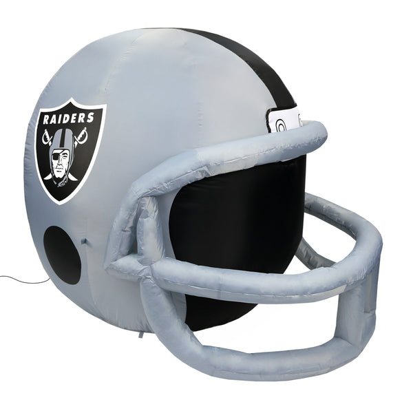 Oakland Raiders NFL Team Inflatable Lawn Helmet - Fan Shop TODAY