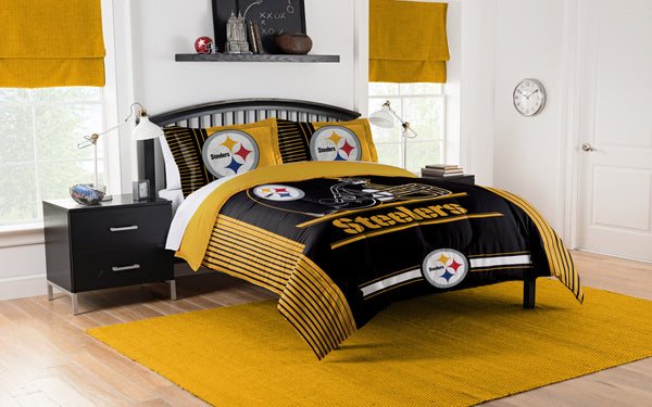 Pittsburgh Steelers NFL Comforter Set - Fan Shop TODAY
