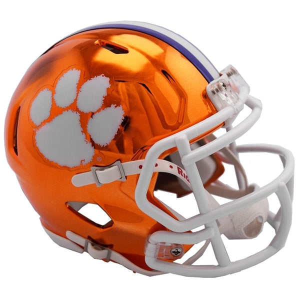 Clemson Tigers Riddell Chrome Alternative 2018 NCAA Helmet - Fan Shop TODAY