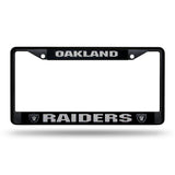 Raiders NFL Chrome License Plate Frames - Fan Shop TODAY