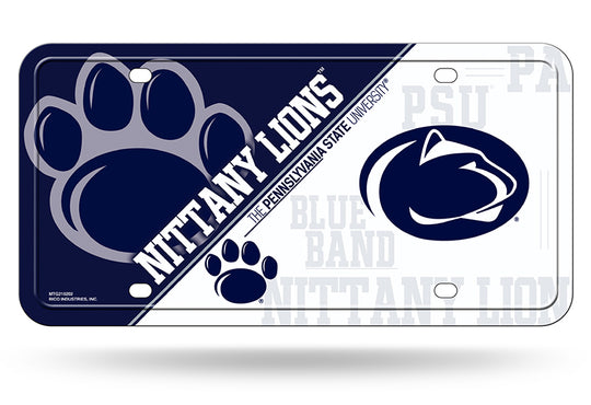 Penn State Nittany Lions NCAA Metal License Plate - Fan Shop TODAY