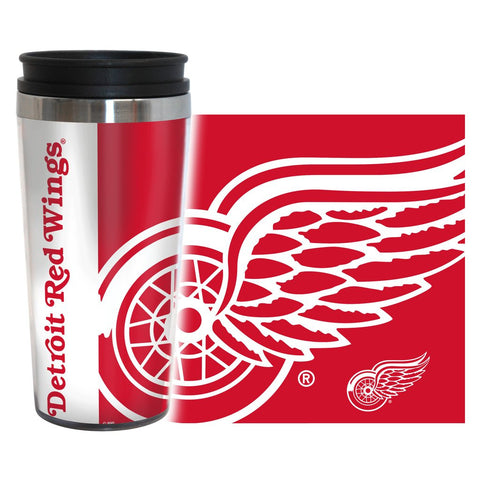 Detroit Red Wings NHL 16 oz. Hype Travel Tumbler - Fan Shop TODAY