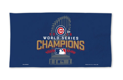 Chicago Cubs 2016 World Series Champions Locker Room Towel - Fan Shop TODAY