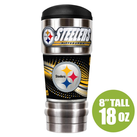Steelers NFL MVP 18oz Vacuum Insulated Tumbler - Fan Shop TODAY
