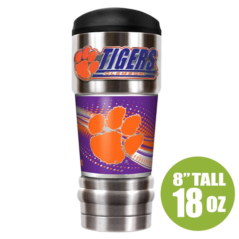 Clemson Tigers NCAA MVP 18oz Vacuum Insulated Tumbler - Fan Shop TODAY