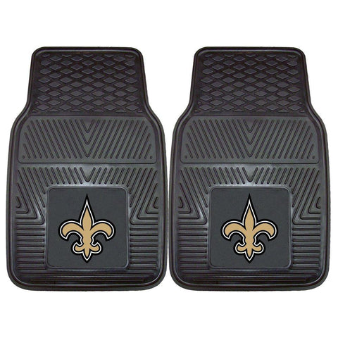 New Orleans Saints NFL Front Vinyl Car Mats - Fan Shop TODAY