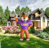 LSU Tigers NCAA Inflatable Mascot 7' - Fan Shop TODAY