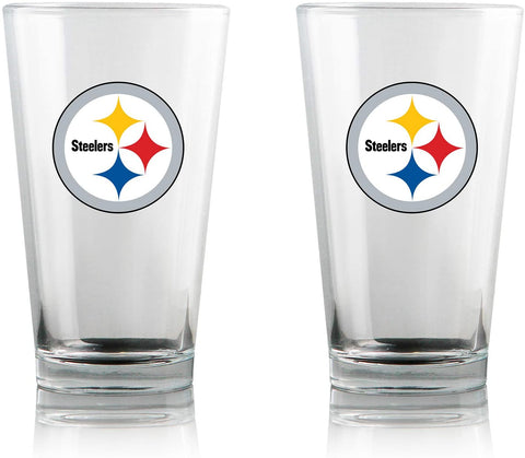 Steelers NFL 16oz. High Ball Pint Glass 2 Pack - Fan Shop TODAY