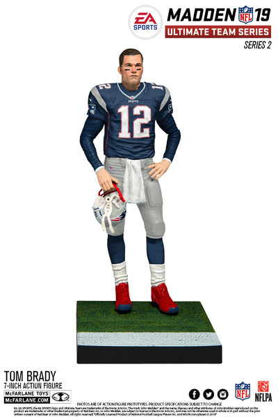 New England Patriots Tom Brady EA Sports Madden 19 Ultimate Team Series 2 - Fan Shop TODAY