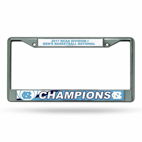 North Carolina Tar Heels NCAA National Champions License Plate Frame - Fan Shop TODAY