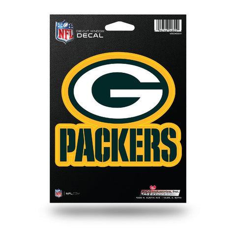Packers NFL Vinyl Cut Decal - Fan Shop TODAY