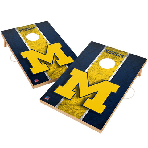 Michigan Wolverines Cornhole Tailgate Game 2' x 3' - Fan Shop TODAY