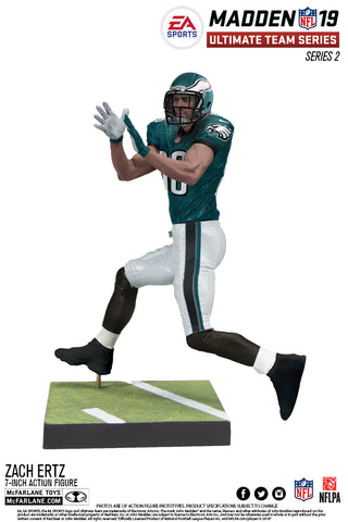 Philadelphia Eagles Zach Ertz EA Sports Madden 19 Ultimate Team Series 2 - Fan Shop TODAY