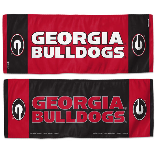 "Georgia Bulldogs NCAA Football Cooling Towel 12"" x 30"" - Fan Shop TODAY"