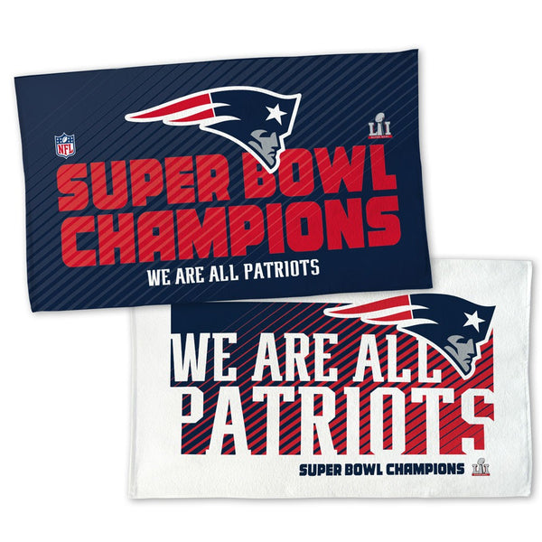 "Patriots NFL Super Bowl LI Champions 22"" Celebration ON FIELD Towel - Fan Shop TODAY"