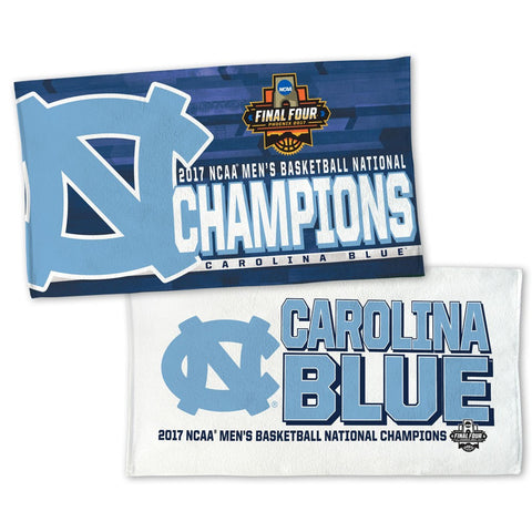 North Carolina Tar Heels Blue NCAA National Champions Locker Room Towel - Fan Shop TODAY