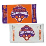 Clemson Tigers 2018 National Champions Locker Room Towel - Fan Shop TODAY