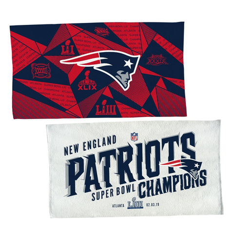 New England Patriots Super Bowl LIII Champions Locker Room Towel - Fan Shop TODAY