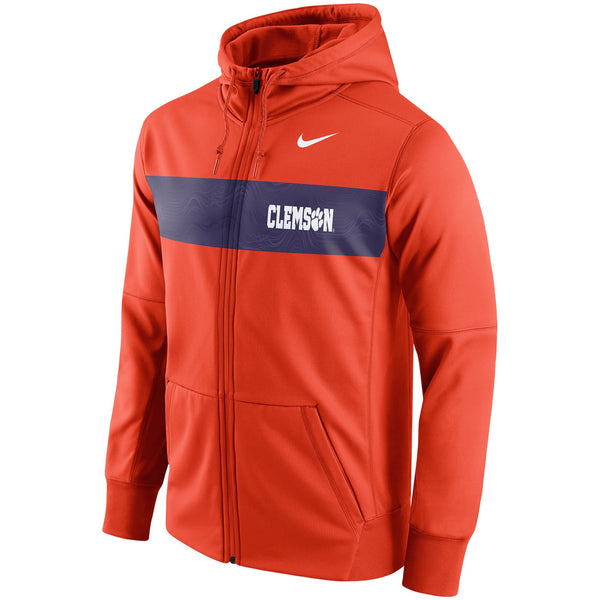 Clemson Tigers Nike Sideline Therma Full-Zip Hoodie - Fan Shop TODAY