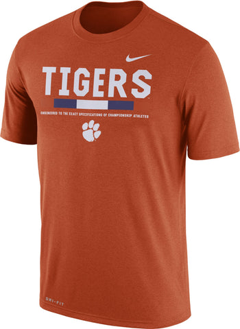 Clemson Tigers Nike Football Staff Legend T-Shirt - Fan Shop TODAY
