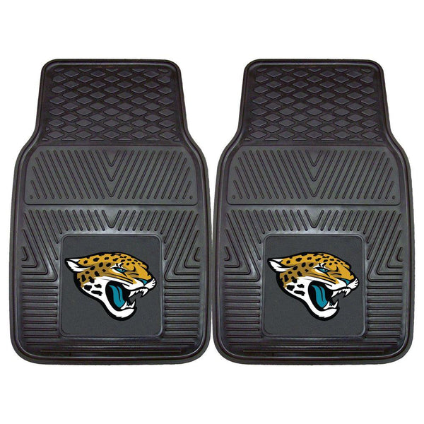 Jacksonville Jaguars NFL Two-Piece Deluxe Car Mat Set - Fan Shop TODAY