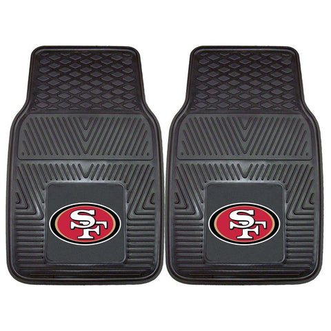 49ers NFL Two-Piece Deluxe Car Mat Set - Fan Shop TODAY