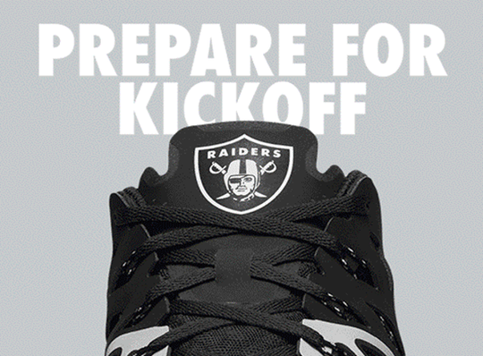 Raiders Nike Train Speed 4 Shoes - Fan Shop TODAY