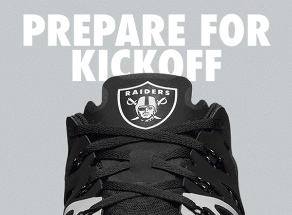 Oakland Raiders Nike Train Speed 4 Shoes - Fan Shop TODAY