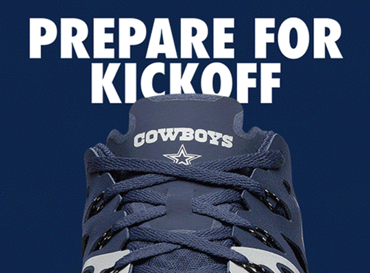 Dallas Cowboys Nike Train Speed 4 NFL Shoes - Fan Shop TODAY