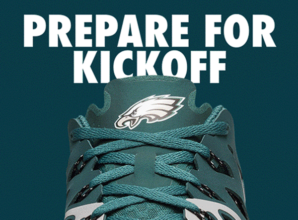 Philadelphia Eagles Nike Train Speed 4 Shoes - Fan Shop TODAY
