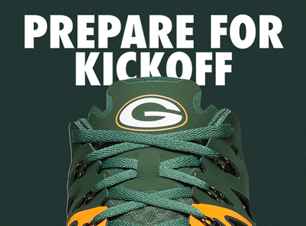Green Bay Packers Nike Train Speed 4 NFL Shoes - Fan Shop TODAY