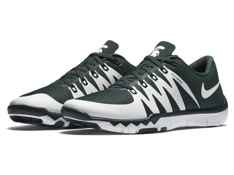 premium selection b5718 1ec8f ... cheap michigan state spartans nike free trainer 5.0 v6 shoes fan shop  today c92b2 cbfaf